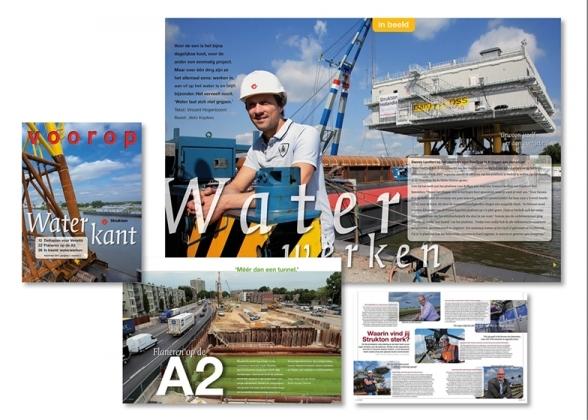Strukton Voorop magazine AC+M
